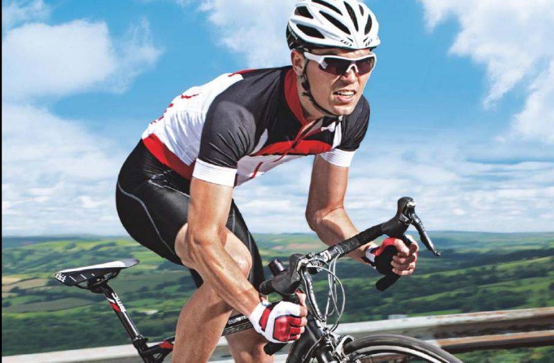 Trainen lange fietsrit