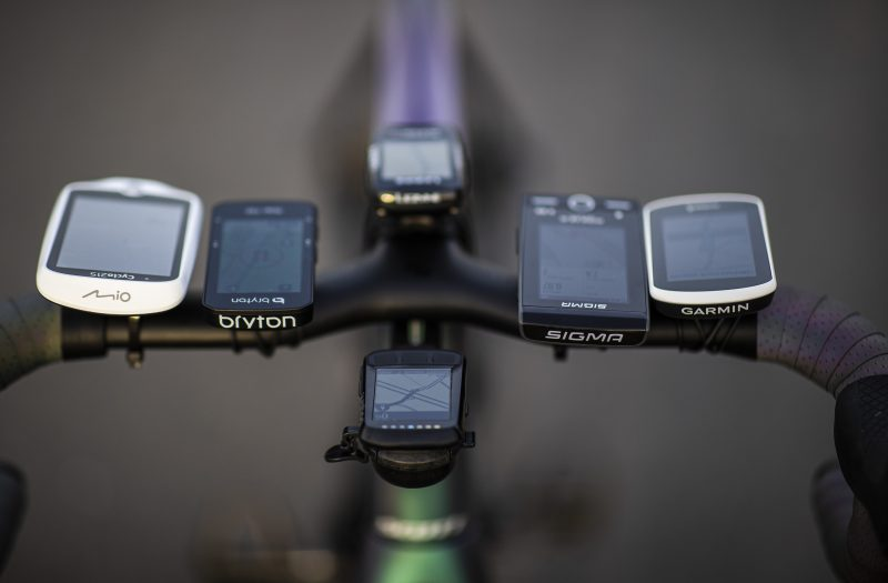 GPS-fietscomputers