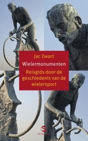 Het boek wielermonumenten een reisgids door de geschiedenis van de
