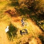 Aerial-Mountain-Biking